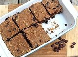 Banana Carob Protein Bars