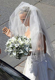 Zara Phillips on her wedding day.