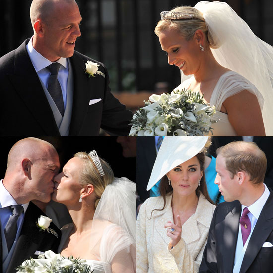 Sweet Moments at Zara Phillips and Mike Tindall's Wedding
