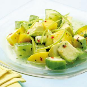 Weight Watchers Recipes - Tropical Cucumber Salad