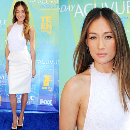 Maggie Q at 2011 Teen Choice Awards