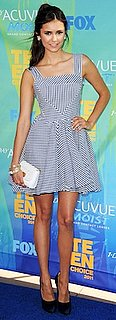 Nina Dobrev at the 2011 Teen Choice Awards