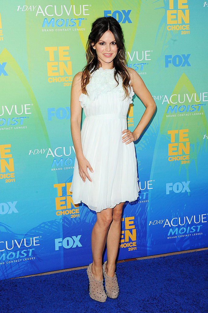 Rachel Bilson Pairs Flirty Chloé With Edgy Brian Atwood at the Teen Choice Awards!