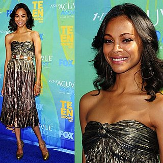 Zoe Saldana at 2011 Teen Choice Awards 2011-08-07 16:38:01