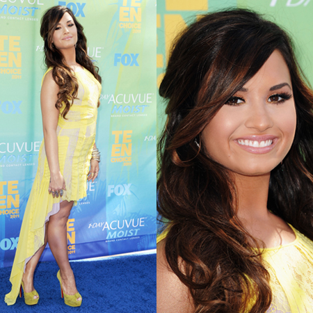 Demi Lovato at 2011 Teen Choice Awards