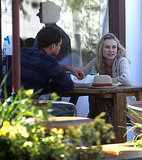 Joshua Jackson and Diane Kruger Check Out Captain America