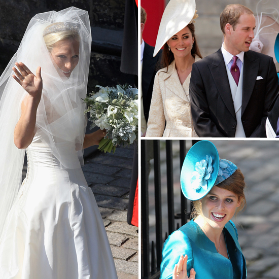 Zara Phillips's Royal Wedding: A Style Roundup