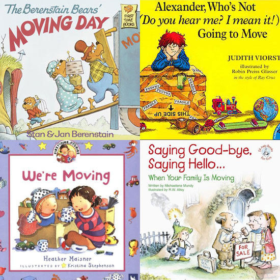 Tough Conversations: Kids' Books About Moving For Tots Who Want to Stay Put