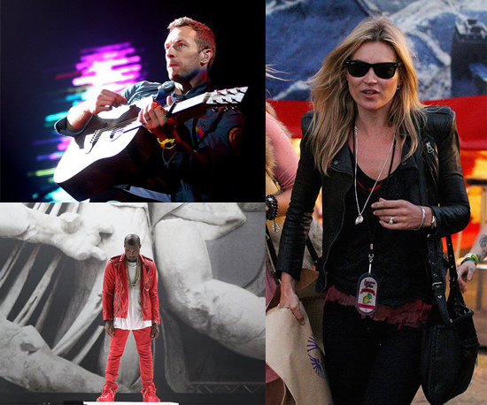 Pictures of Kate Moss, Kanye West, The Kills, Coldplay, Chris Martin and More at 2011 Splendour in the Grass