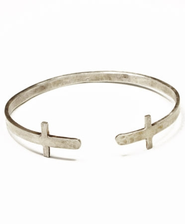 Double Cross Cuff, $185