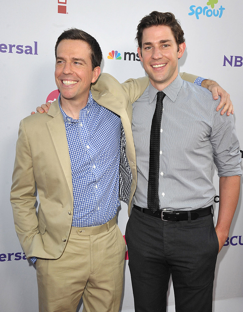 Ed Helms and John Krasinski together.