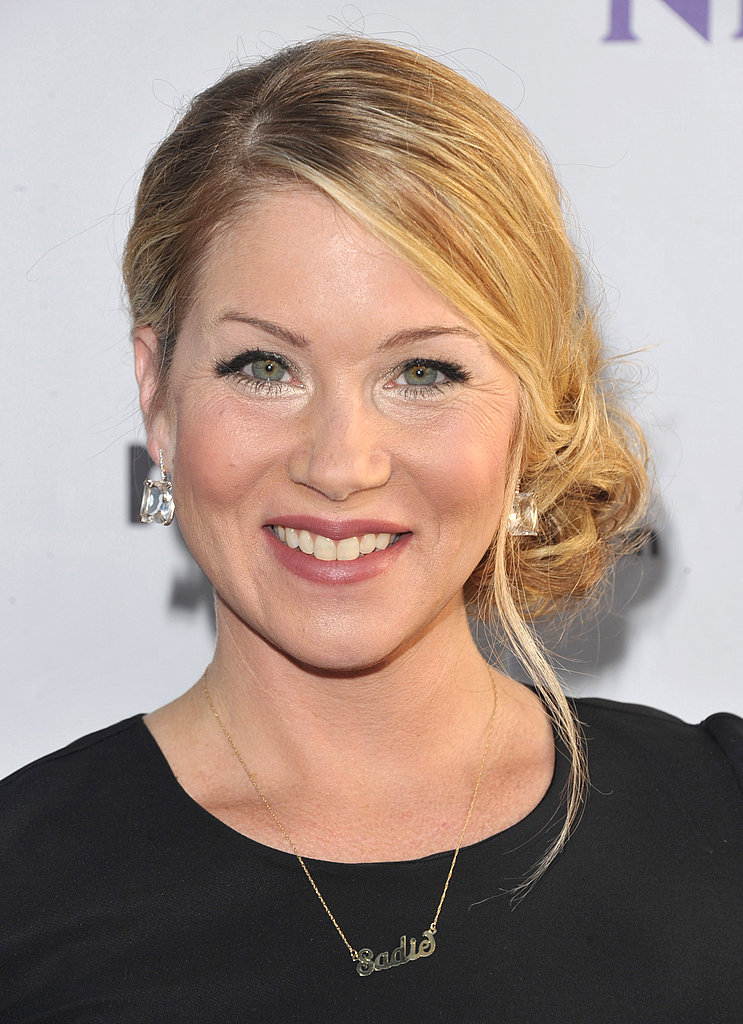 Christina Applegate at NBC party.