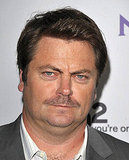 Nick Offerman at an NBC party.