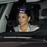 Eva Longoria Lets Eduardo Cruz Take the Wheel For Date Night in LA