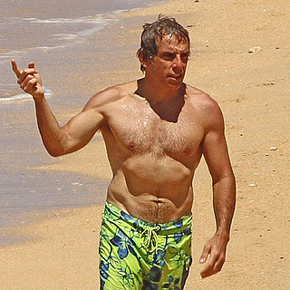 Ben Stiller Shirtless Pictures and Christine Taylor Bikini Pic