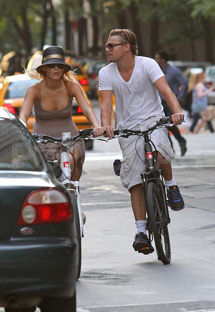 Leonardo DiCaprio and Blake Lively together in NYC.
