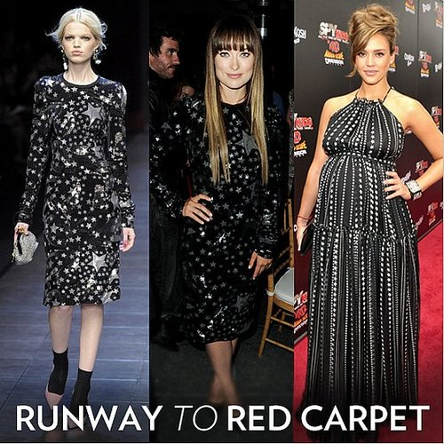 Dolce & Gabbana Sequin Star Print Trend: See the Celebrities Who's Worn Them, Including Jessica Alba, Olivia Wilde