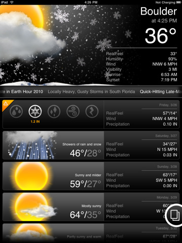 Accuweather (free)