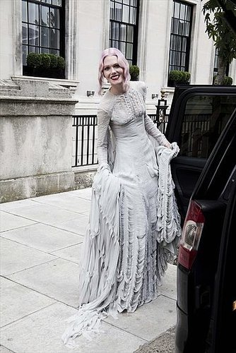 Stylist Katie Shillingford's Gareth Pugh Wedding Dress [Pictures]