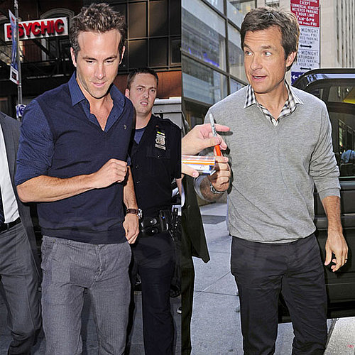 Ryan Reynolds and Jason Bateman at The Today Show Pictures