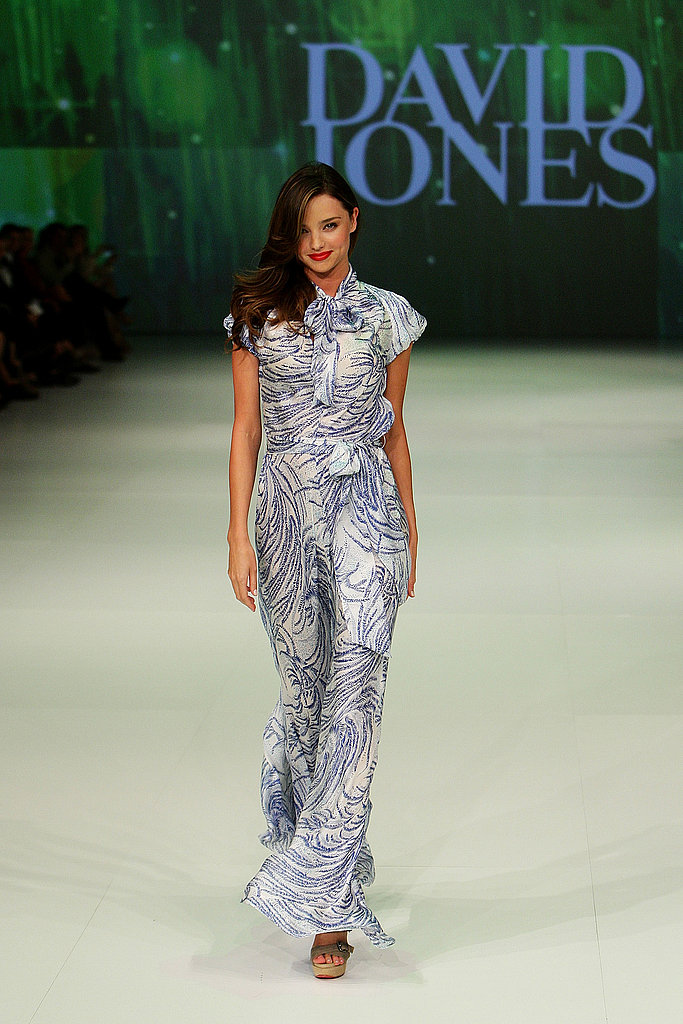 Miranda Kerr walks the catwalk.