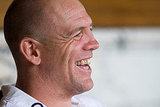 Newlywed Mike Tindall.