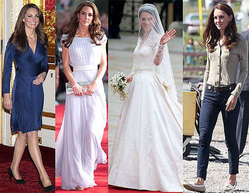 Kate Middleton on Vanity Fair's Best-Dressed List
