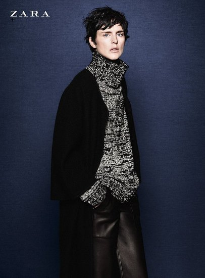 Just Released — Zara's Fall Ad Campaign Featuring Stella Tennant