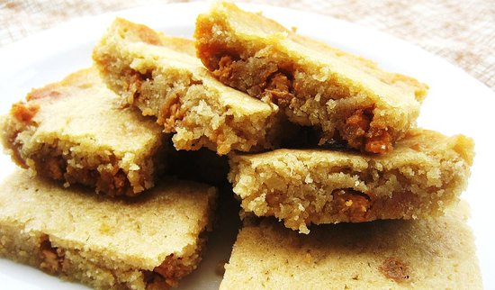 Butterscotch Coffee Blondies
