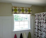 Easy No Sew Window Valance