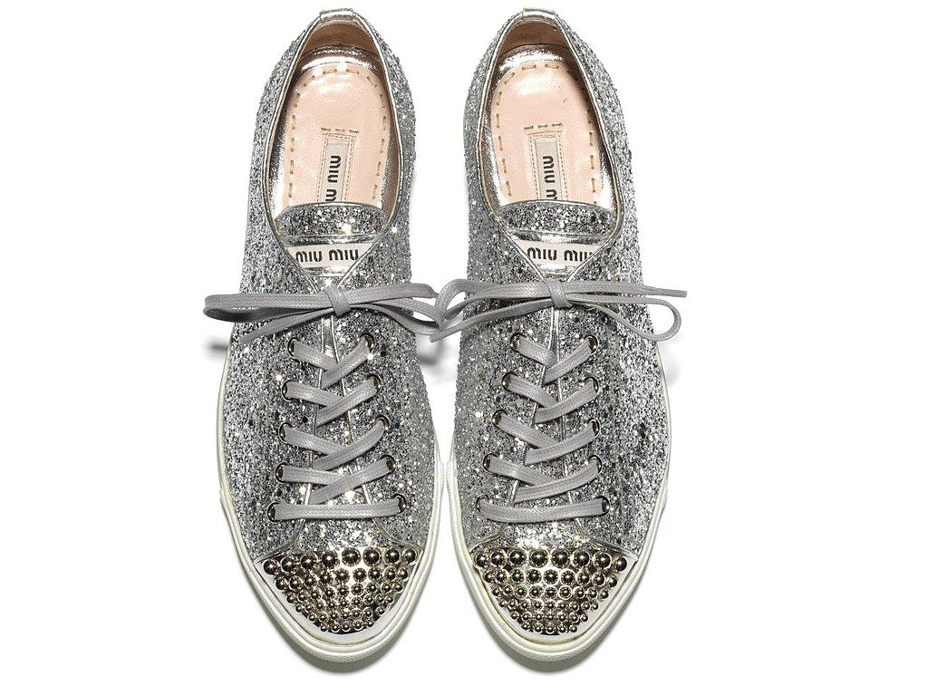 Miu Miu Introduces Super Sparkly Sneakers