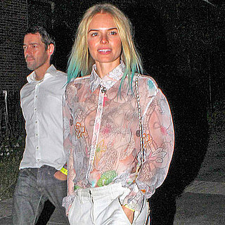 Kate Bosworth, Chris Martin Pictures at LA Coldplay Concert