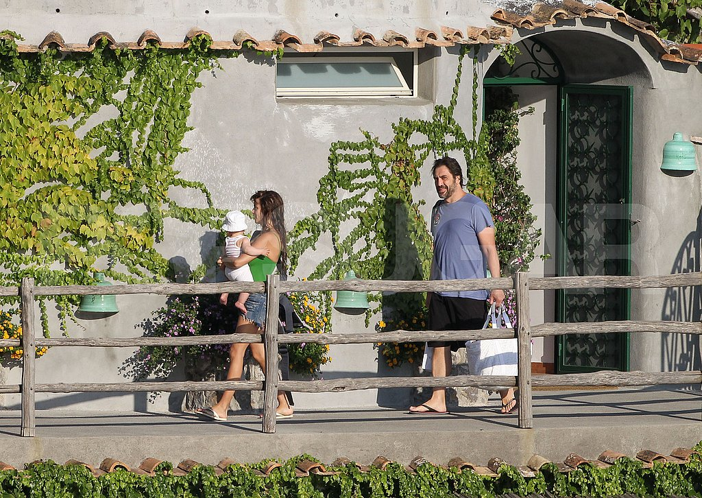 Hot Pics: Penelope Cruz Sexy in a Swimsuit With Shirtless Javier and Baby Leo!
