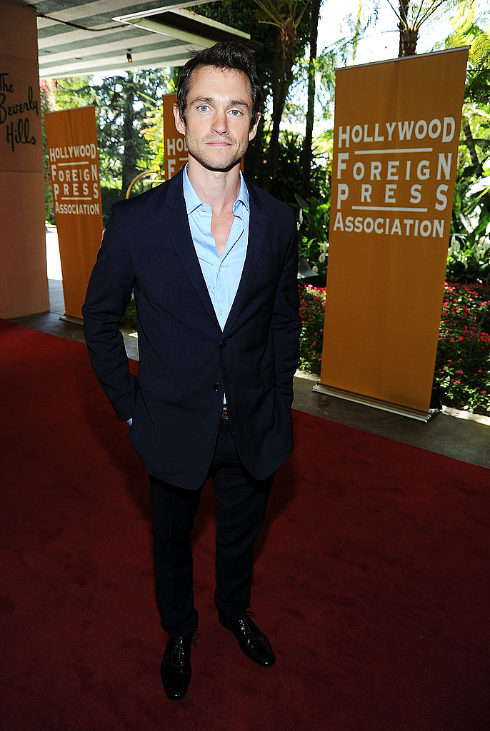 Hugh Dancy arrived solo.