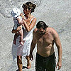 Penelope Cruz, Javier Bardem, &amp; Leo Bardem Pictures in Italy