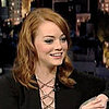 Video of Emma Stone Talking About The Help and Michelle Obama on Letterman