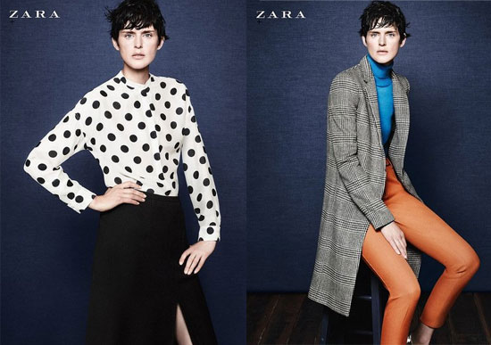 Zara Autumn Winter 2011 Ad Campaign, Starring Stella Tennant: Get a sneak peek of what's to come!