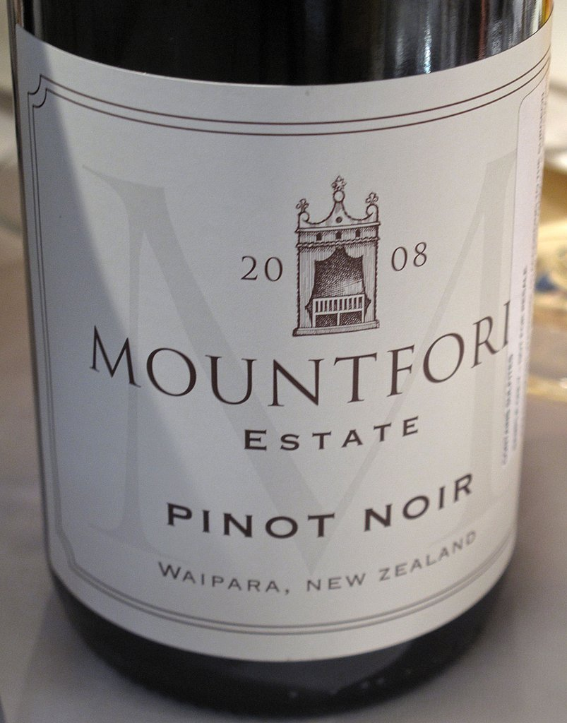 2008 Mountford Estate Pinot Noir