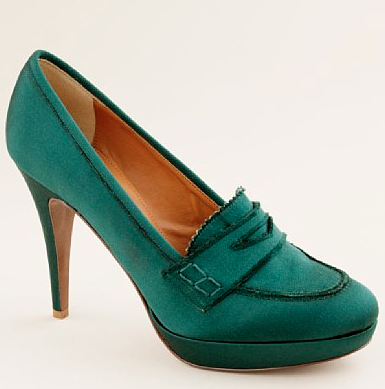 J.Crew Satin Biella Loafer ($295)