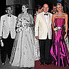 Prince Albert, Charlene Wittstock at 2011 Red Cross Gala Ball