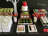 Back-to-School Dessert Table