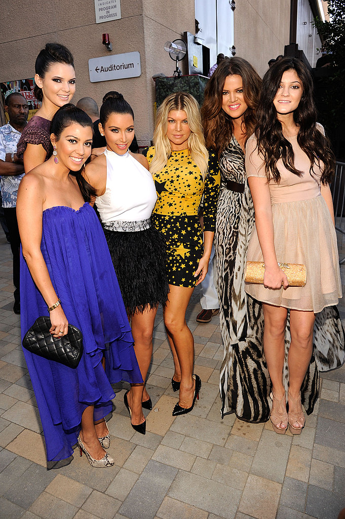 The Kardashians and Fergie.