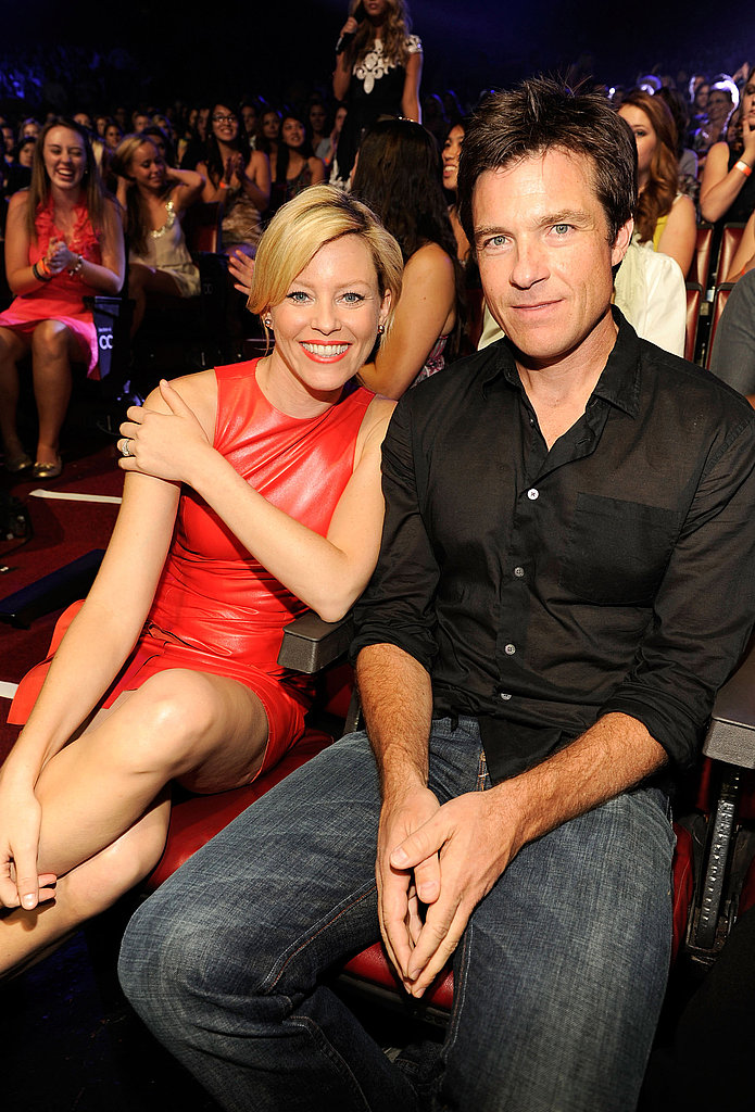 Elizabeth Banks and Jason Bateman at the 2011 Teen Choice Awards.