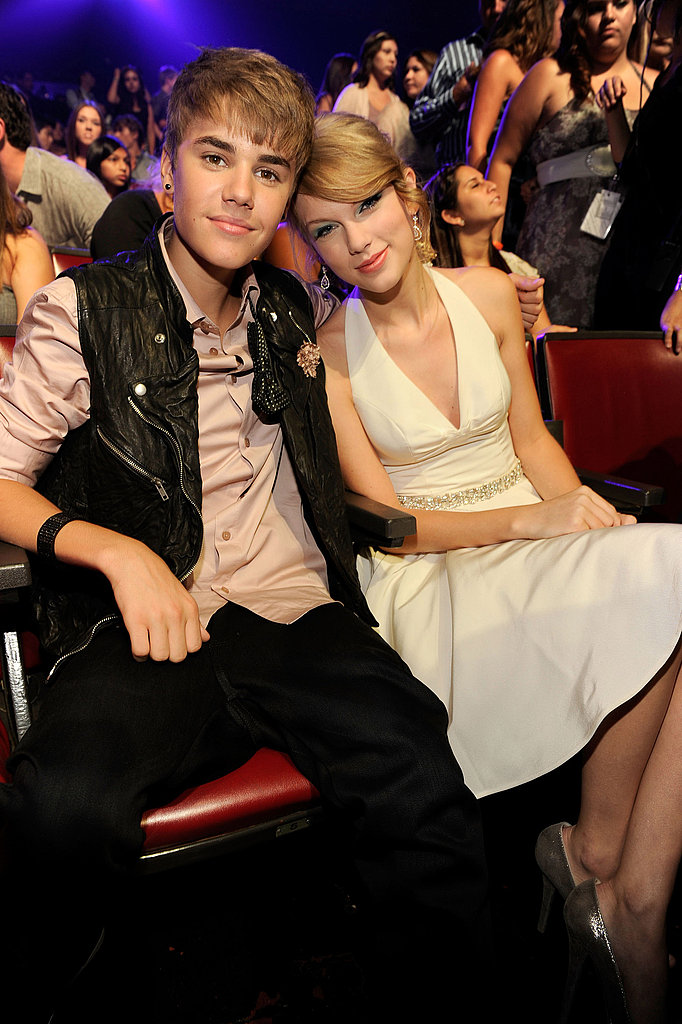 Taylor Swift and Justin Bieber.