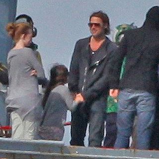 Brad Pitt Shooting World War Z Pictures