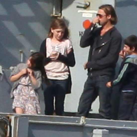 Brad Pitt films World War Z in Cornwall.