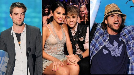 Video: Selena and Justin's PDA, Robert Pattinson Takes the Stage, and More Teen Choice Awards Highlights!