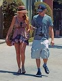 New couple Blake Lively and Leonardo DiCaprio in LA.