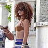 Rihanna Pictures in a Bikini Top