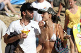 Alessandra Ambrosio and Jamie Mazur on vacation.